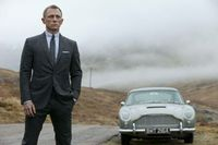 Old car -new Bond. As much as I love the Bond films and books, Daniel Craig just doesn't do it for me. And I just don't like the gritty, hard look of the latest films, give me a smouldering villain, some sexy girls, plenty of gadgets and fast ...