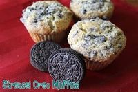 Streusel Oreo Muffins