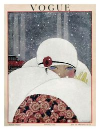 §§§ : Vogue Cover : January 1919 by Georges Lepape