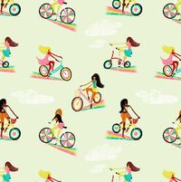 #migy #pattern #bycicles