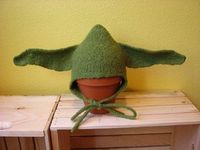 Free Pattern: Felted Yoda Hat
