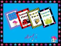 Grade School Giggles: Free Binder Covers (Lesson Plans, Grade Book, Data Book)
