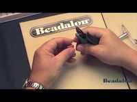 how to use the Beadalon jumpring maker - you can also get an idea of how to make them even if you don't own their tool
