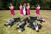 20 wedding party photo-op ideas. All of these are brilliant!