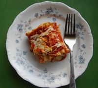 Lasagna Rolls: Easy and fun to make.