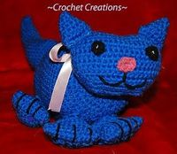 Crochet Creative Creations- Free Patterns and Instructions: Crochet Cuddly Kitty