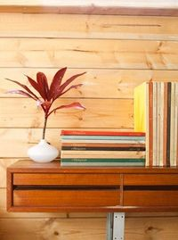 diy book shelf with drawers. How in a dorm you may ask? I am a command strip expert :)