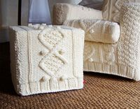 knitted slip covers