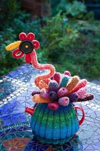 OK so it's knitted...but it can be done in crochet!