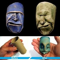 Toilet Paper Roll Sculpture
