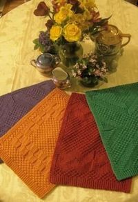 Really Reversible Placemats & Table Runners Collection by Kathy Cairns Hendershott