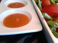 Mango Pepper Sauce, A.k.a. Awesome Sauce: Spicy peppers marry with mango, apple, and fresh tomato to produce a hot sauce that's out of this wo...[read more at Food Frenzy]