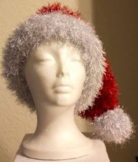 Get Your Glitz On Santa Hat