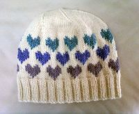LuluKnits: I Heart Knitting Hat