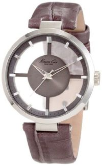 Kenneth Cole New York Women's KC2611 Transparency Classic See-Thru Dial Round Case Watch