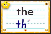 Sight Words:Kids Learn ($0.00) �— hear the words �— practice writing the words�€� �— recognize letters �— record the words with playback�€� �— use the words in activities It combines fluency, vocabulary, s...