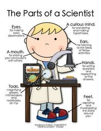 "NEW... ""The Parts of a Scientist"" (A girl version is available, too.) $1.00"