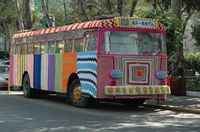Crochet bus from Mexico - amazing!