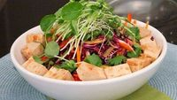 Low-Fat Asian Slaw With Tofu