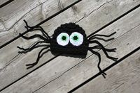 Cute little spider newborn photo prop hat by Oh so cute props