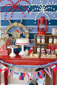 amazing 4th of July party table!