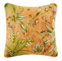 Barbados Sunset Quilted Throw Pillow