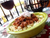 Slow Cooker Moroccan Chicken over Couscous